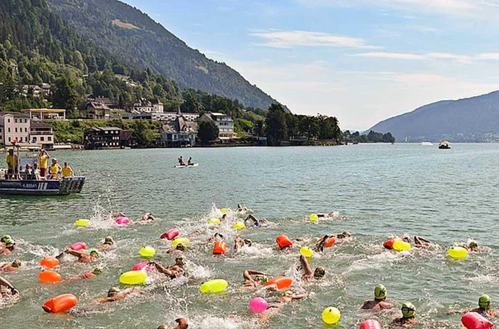 Ein neues Event im arena Alpen Open Water Cups: der Ossiacher See